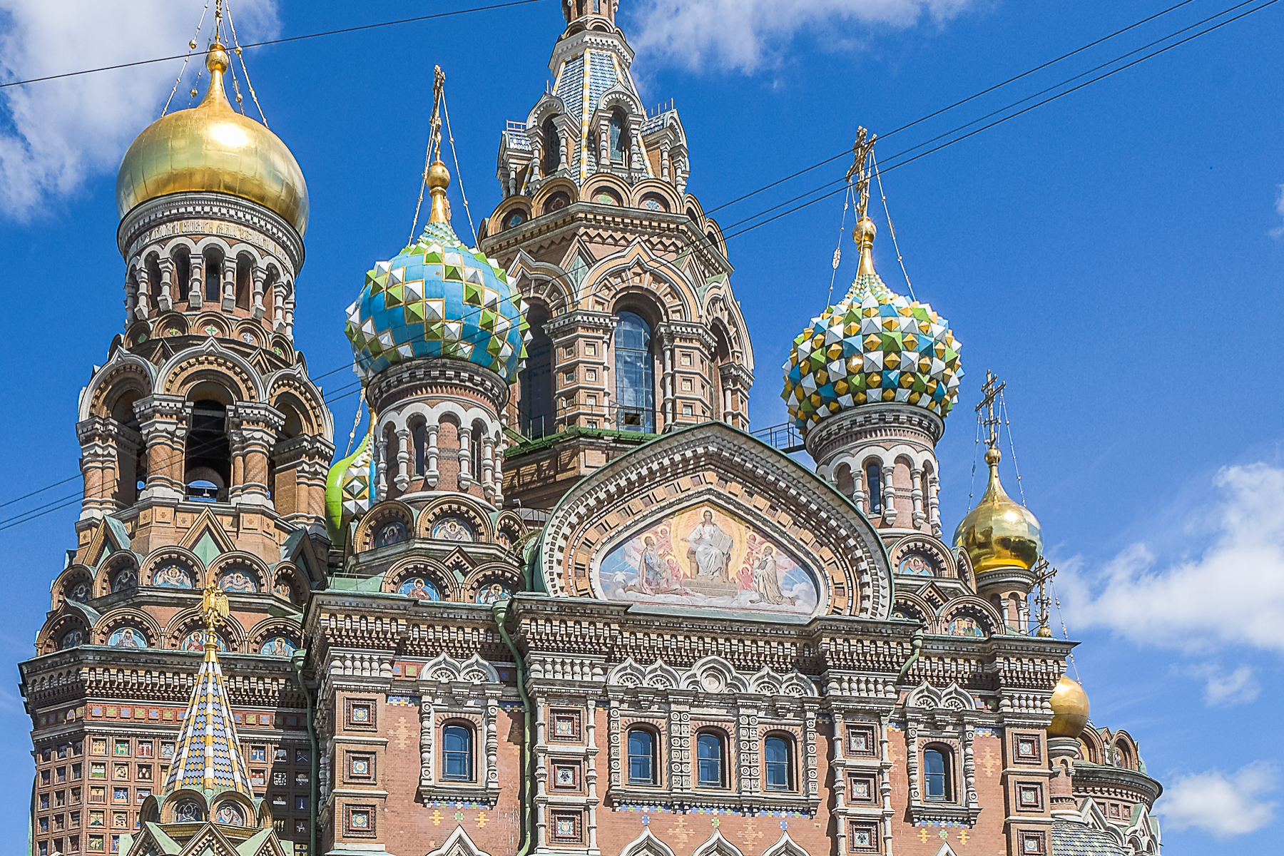 Still @ around 60 degrees north – a glimpse of St Petersburg